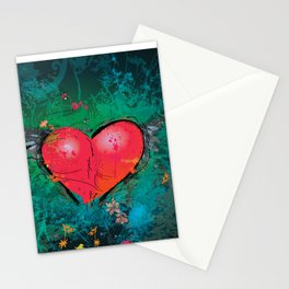Aching Heart Stationery Cards