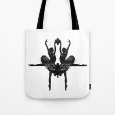 Rorschach Ballerina Tote Bag