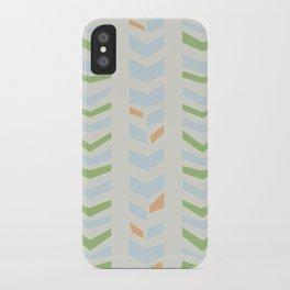 Chevron pale iPhone Case