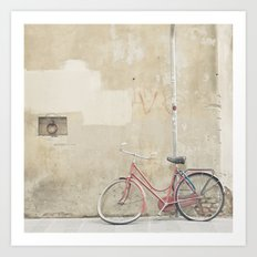 Bicycle in Florence Art Print