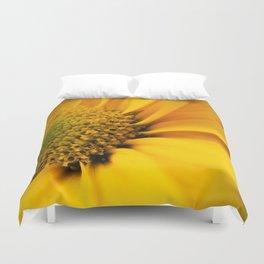 Big Yellow Flower Duvet Cover