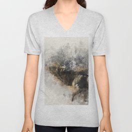 Morning Breath Unisex V-Neck