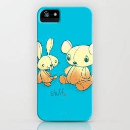 I like doing stuff with you  iPhone Case