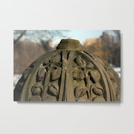 Carving Metal Print