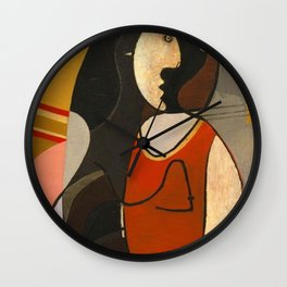 Seated Women Picasso Wall Clock
