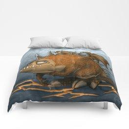 Marshmellow the Dragon Comforters