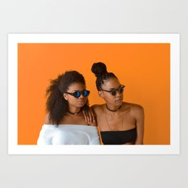 Melanin Queens Art Print