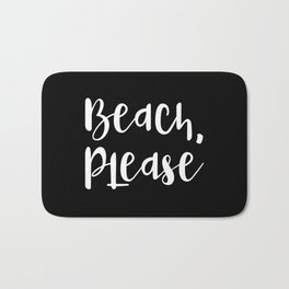 Beach, Please Bath Mat