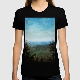 View from Clingman's Dome Tennessee Smoky Mountains T-shirt