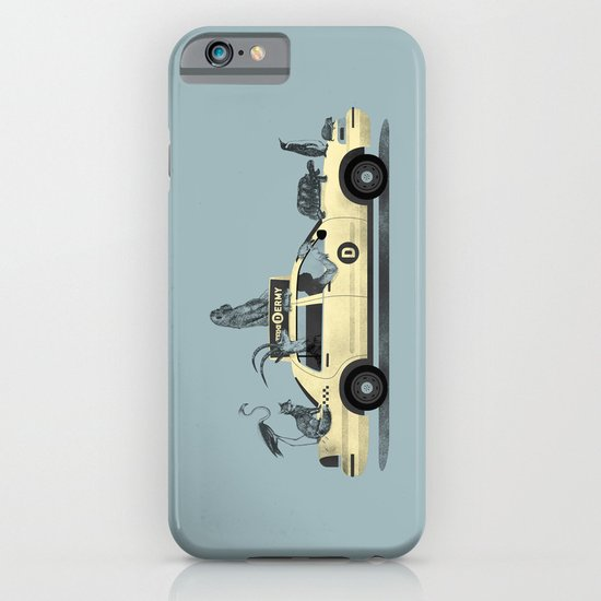 1-800-TAXI-DERMY iPhone & iPod Case
