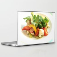 cooking Laptop & iPad Skins featuring COOKING MASTER by OeildePHI