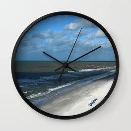 A Clearwater Beach Wall Clock