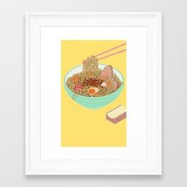 Ramen! Framed Art Print
