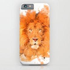 Splatter Lion iPhone 6s Slim Case