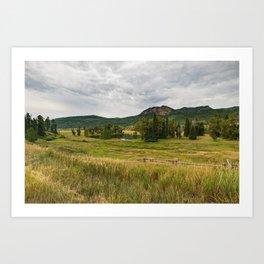 Klyde's_Lake, Southwestern Colorado Art Print