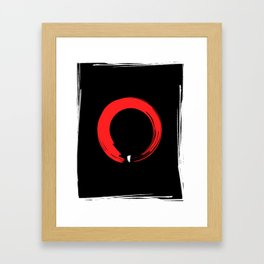 The Zen Spot Framed Art Print