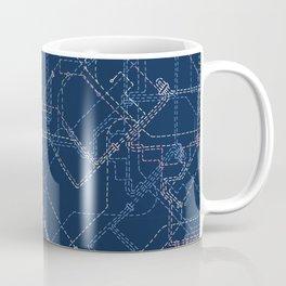 Public Transport Network Coffee Mug