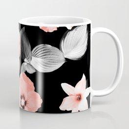 Living Coral Floral Dream #1 #flower #pattern #decor #art #society6 Coffee Mug