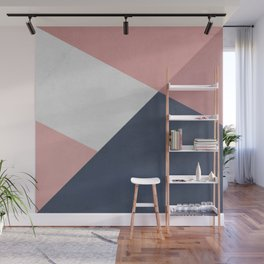 Modern geometry 4 Wall Mural