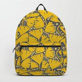 Yellow Ginkgo Biloba Leaves Backpack