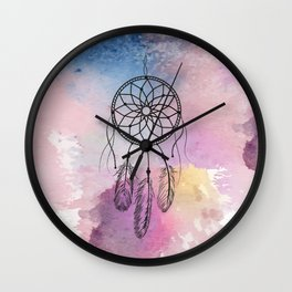 Dreamcathcer Wall Clock