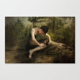 The Weight of Nature Canvas Print