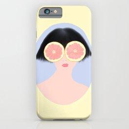 CITRUS & GIRL iPhone Case