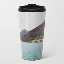 Bay of Kotor from the ferry Travel Mug