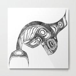 Smoke Keét Metal Print