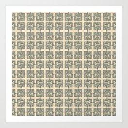 $ Dollar Bill / pattern Art Print