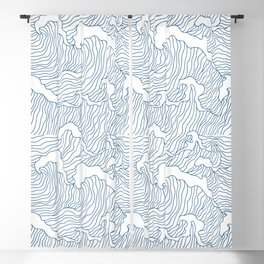 Japanese Wave Blackout Curtain