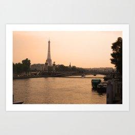 Lovely City Art Print