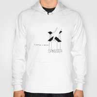 gangster Hoodies featuring Gangster by Larice Barbosa