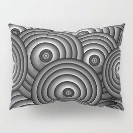 Charcoal Swirls Pillow Sham