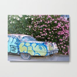 Auto Graffti Metal Print