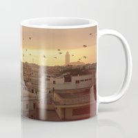 casablanca Mugs featuring Casablanca by GF Fine Art Photography