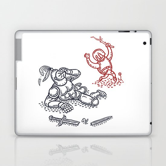 Happy Knight  Laptop & iPad Skin