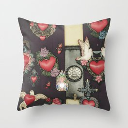 Heartly Throw Pillow
