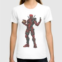 halo T-shirts featuring Halo/Deadpool  by Molly Thomas
