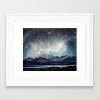 northern lights Framed Art Prints featuring Northern lights by LisaB