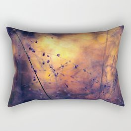 The City of Fireflies Rectangular Pillow