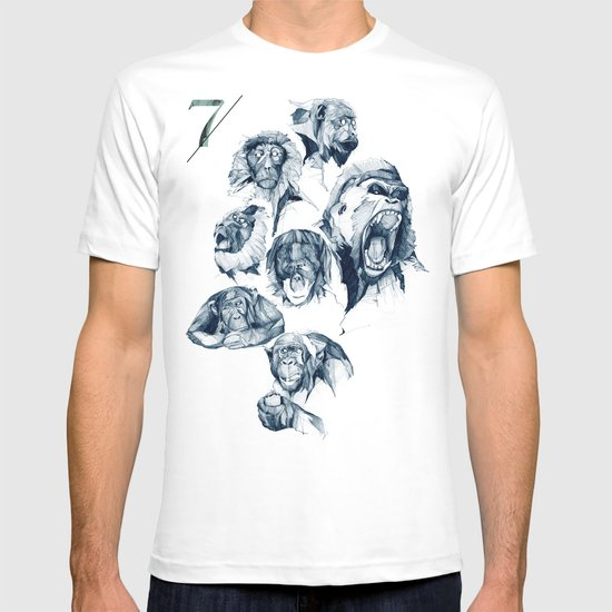 Seven Monkeys T-shirt