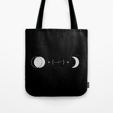 The Law of Crescent Moon Tote Bag