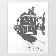 WE LOVE ISTANBUL Art Print