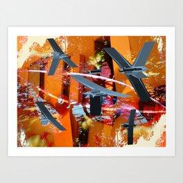 Yeci Art Print
