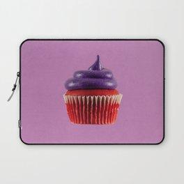 Cupcake Love | Royal Purple Velvet Laptop Sleeve