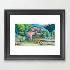 Concept Background #01 Framed Art Print