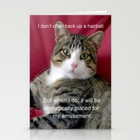 meme Stationery Cards featuring TJ Meme by Frankie Cat