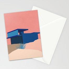 Kaufmann Desert House Blue - Rosé Stationery Cards