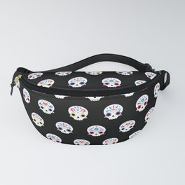 Cute sugar skulls B Fanny Pack